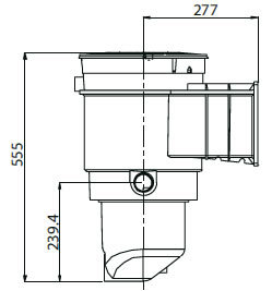 Waterco Skimmer box drawing