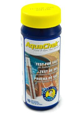 Salt test strips for swimming pools direct pool supplies - Swimming pool water testing calculator ...
