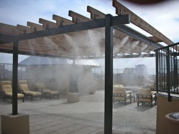 Climate Veil Patio Misting U0026 Cooling System