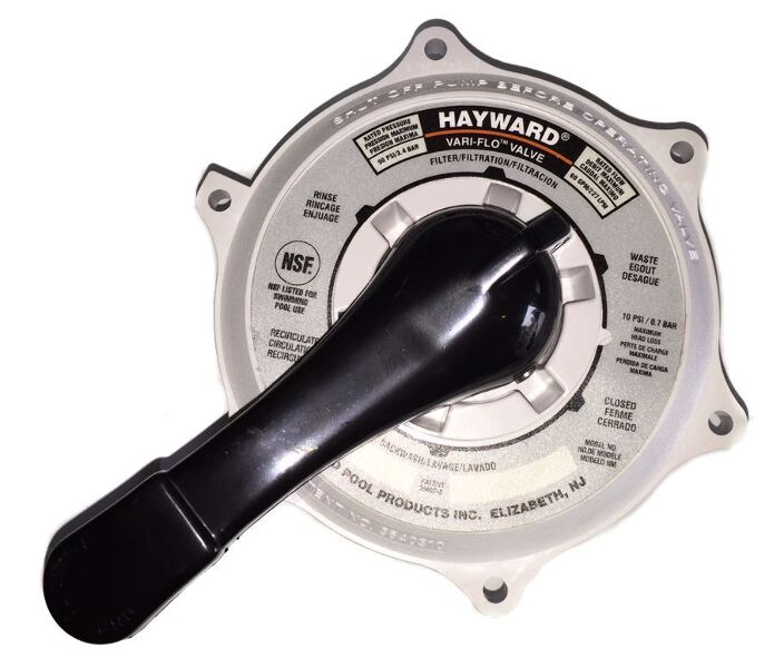 Hayward Pool Valve Plumbing : Hayward top valve assembly mm direct pool supplies