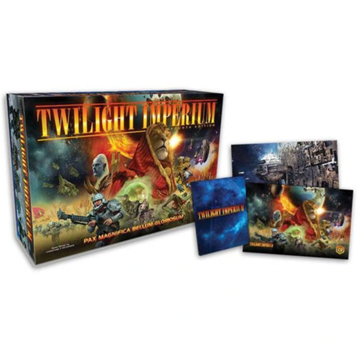 Details about Twilight Imperium 4th Edition Promotion w/ Hardcover Rule  Book plus extra