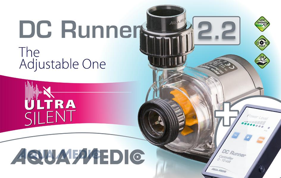 uk availability 53491 5fe91 Details about Aqua Medic DC Runner 2.2 Controllable Low Voltage