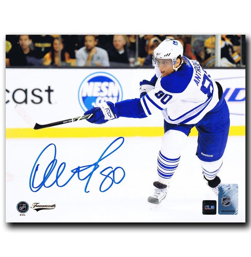 reputable site ea524 bf7ba Details about Nik Antropov Toronto Maple Leafs Autographed 8x10 Photo