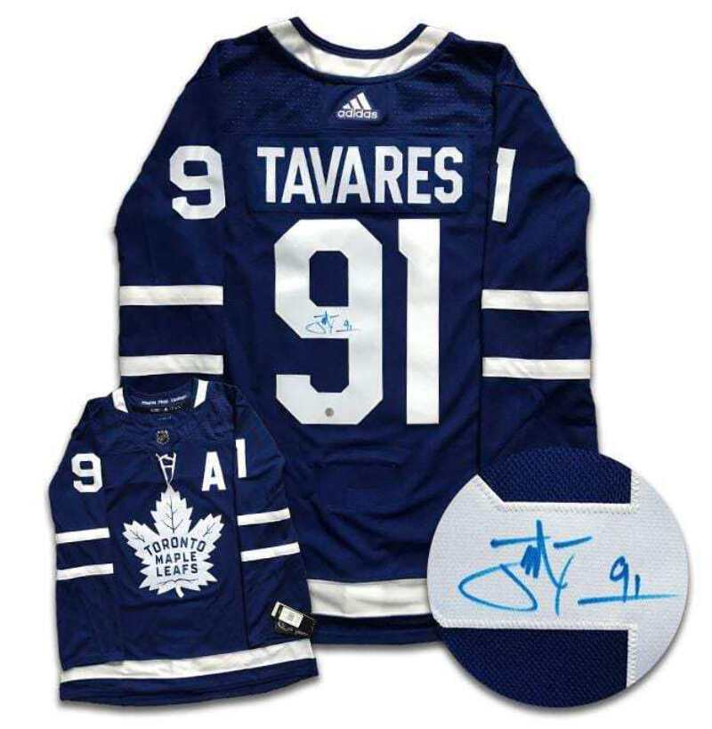 release date: f2147 64ccc Details about John Tavares Toronto Maple Leafs Autographed Adidas Jersey