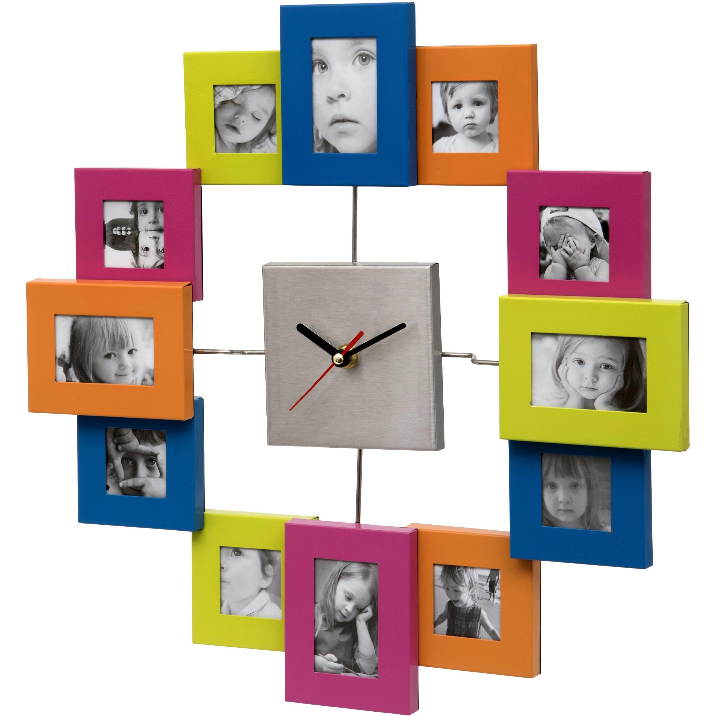 L/'unité Bolton Marbre Horloge Murale 35 cm