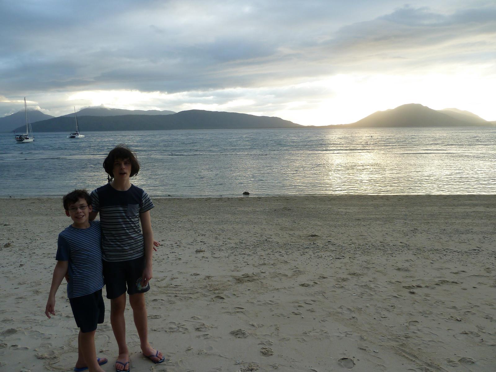 Sunset on Fitzroy Island