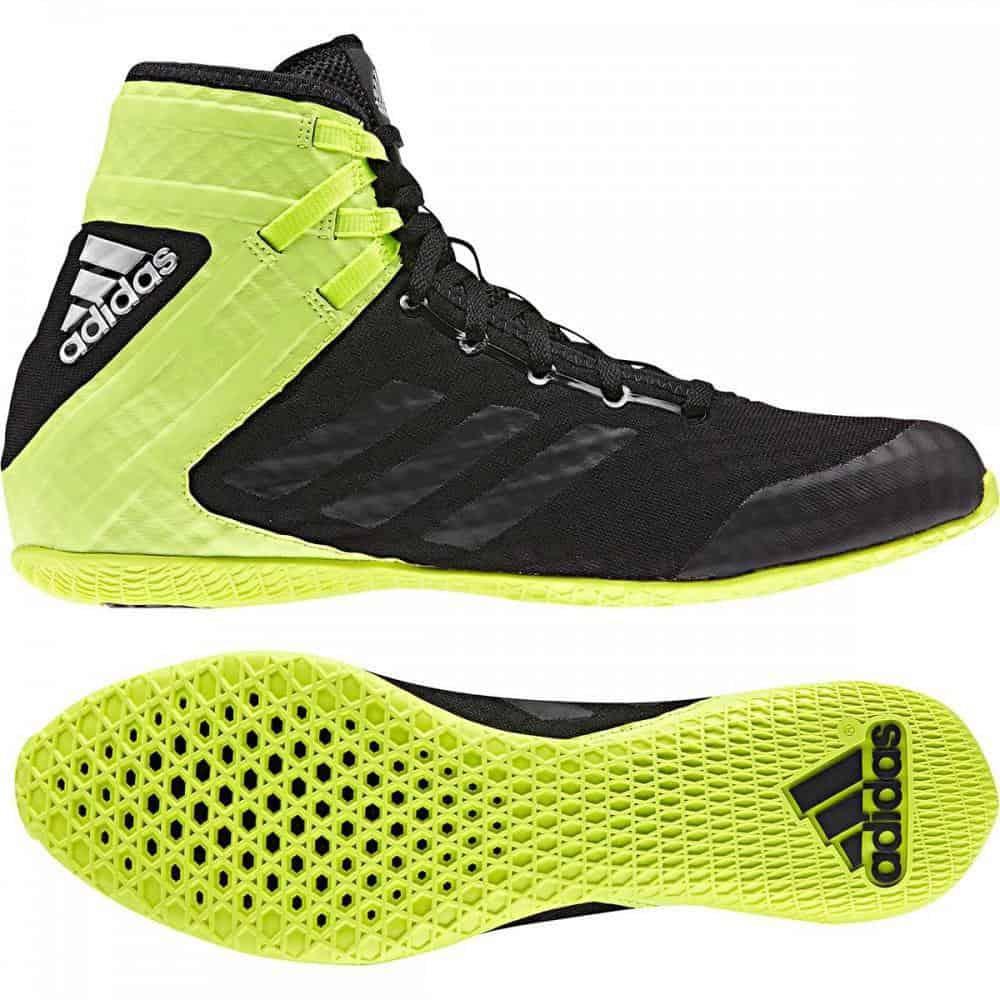 Adidas Speedex Boxing Shoes Boots Black
