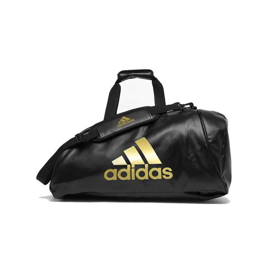 Adidas Large Combat 053 Gear Gym Sports Bag Camo & Orange Shoulder Strap