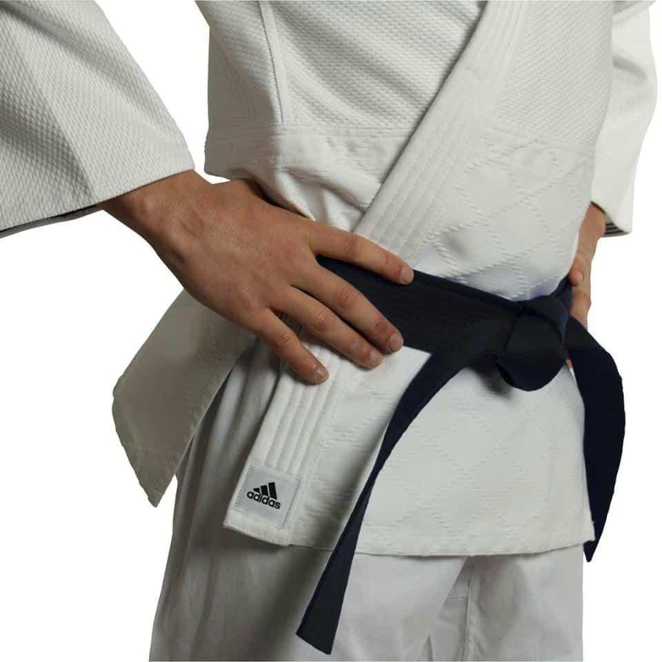 Adidas J990 Millenium Judo Gi Uniform White Double Weave Senior
