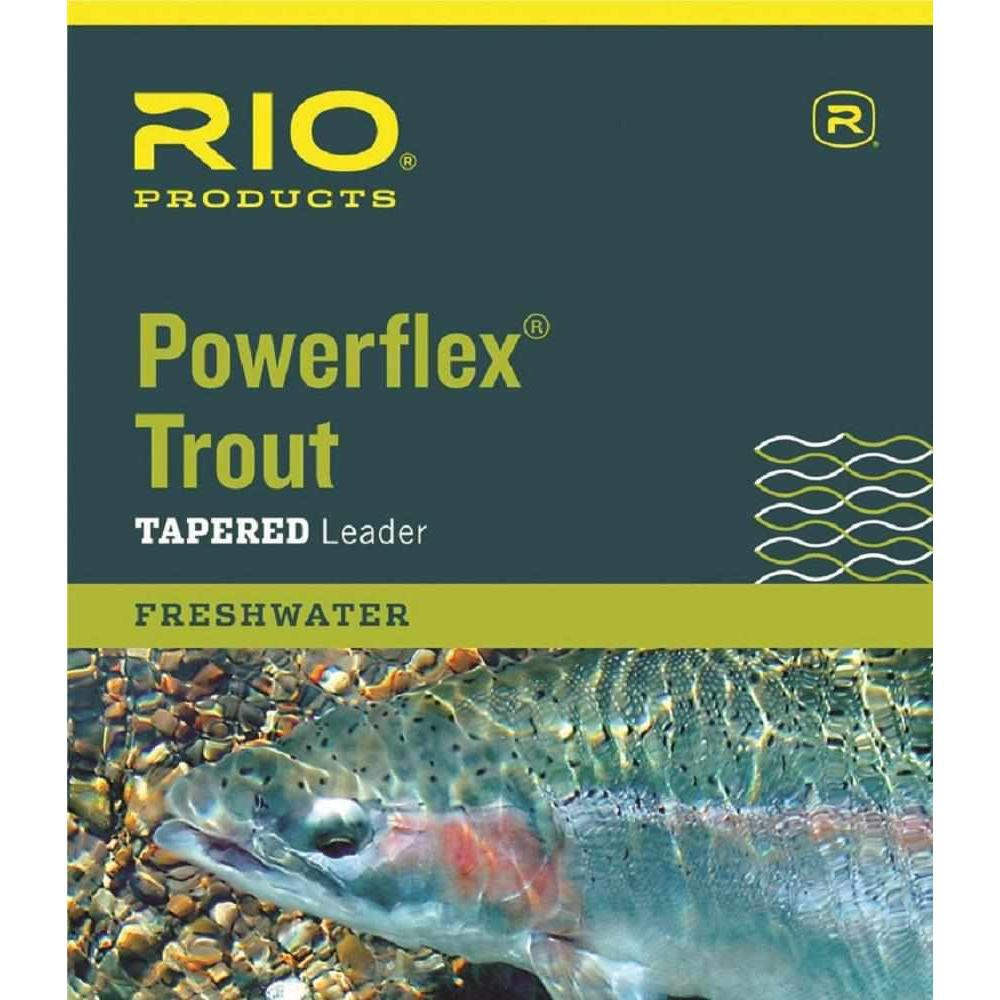 Tapered Leaders AquaPro Brown Rainbow Trout Grayling Fly Fishing Leader Tippet