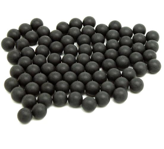 100x Gummiball Hartgummi Paintball 68 cal für HDS T4E Pistol Hard Rubber Balls