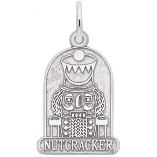 Nutcracker Charm Sterling Silver Charms