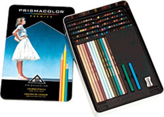 Prismacolor Premier Coloured Pencils Tin 132