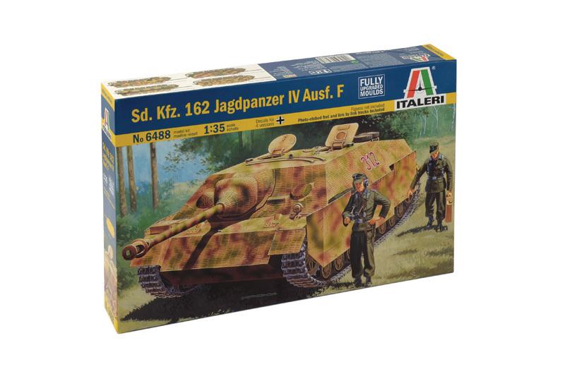 162 jadgpanzer IV Ausf KFZ F 1//35 scale italeri au 6488 SD