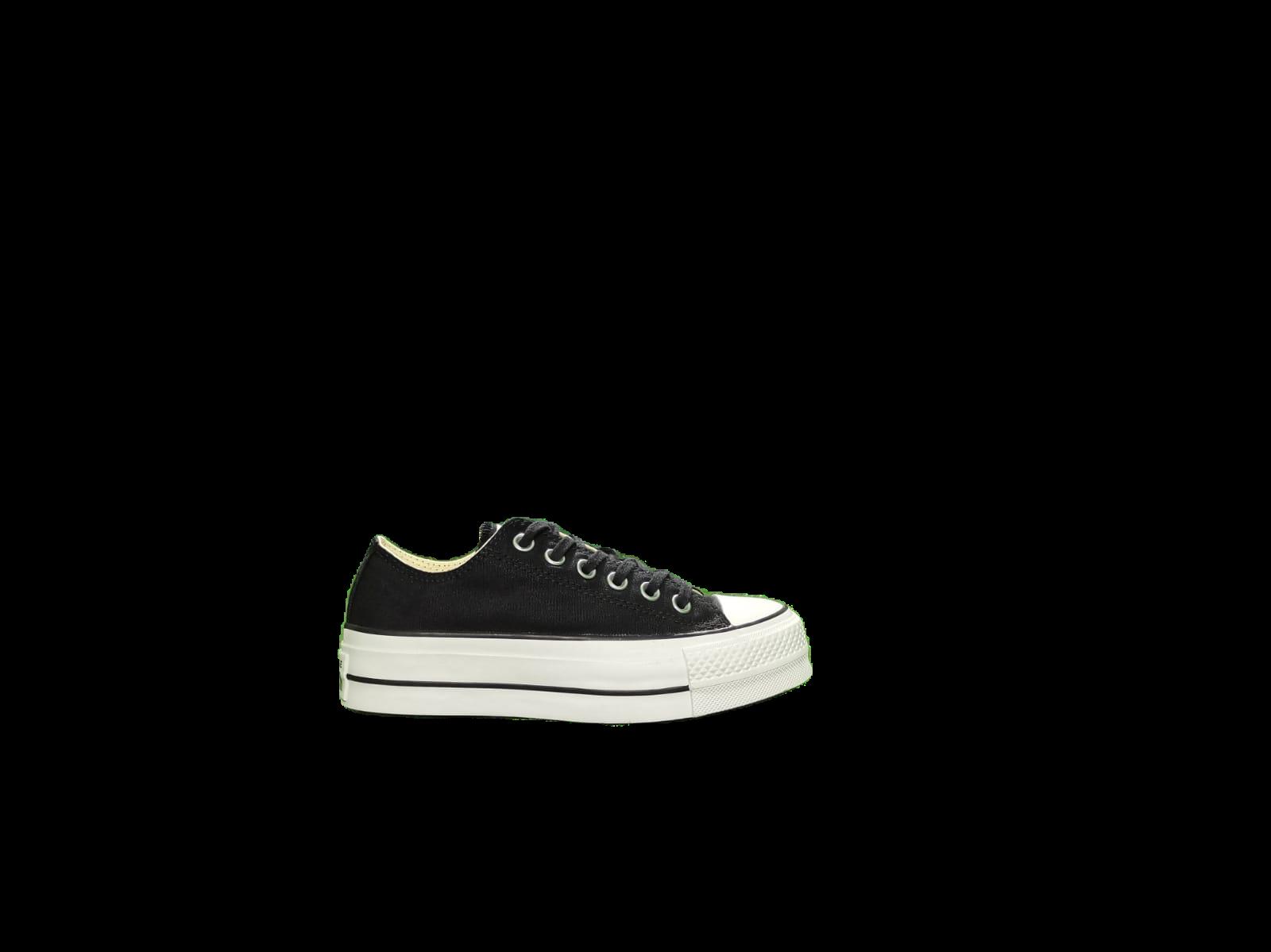 Dettagli su Scarpa Converse CTAS Lift ox Nero Donna Sneakers 560250C
