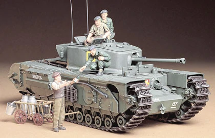 - Eduard Photoetch 1:35 Churchill Mk.VII Tamiya EDP35135