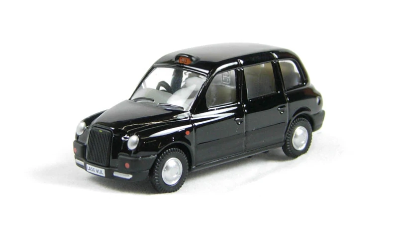 BNIB OO GAUGE OXFORD 1:76 76TX4001 BLACK TX TAXI