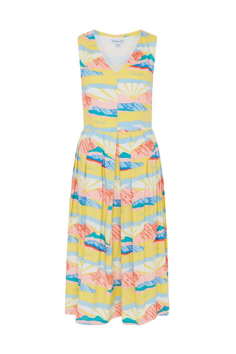 HAILEY Dress in Paintbox Valley. NEW Emily And Fin Dress