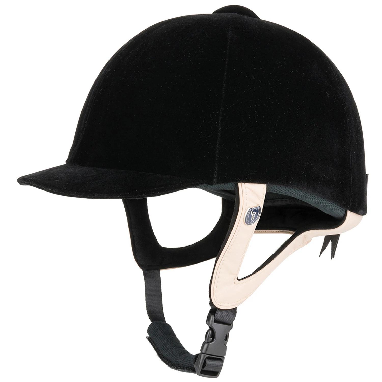 Black 57cm Gatehouse Jeunesse Velvet Riding Hat