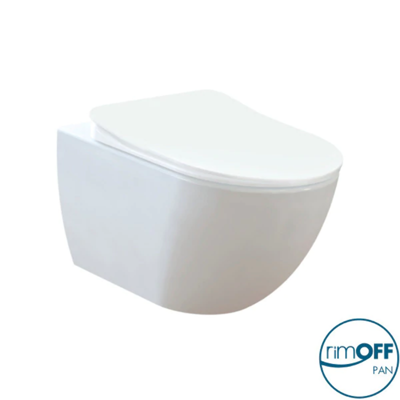 Franco Rimless Wall Hung Combined Bidet Toilet With Soft Close Seat Ebay